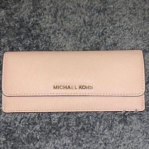 Pink MK wallet